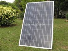 Hot * 100 Вт вт поликристаллических солнечных панелей фотоэлектрических панелей 100 Вт систему 12 В зарядное устройство