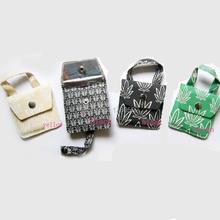 Selling Eco-friendly  4PCS/LOT Cigarette Pocket Ashtray  Portable  Ash Tray Smoking Tool  Free Shipping(China (Mainland))