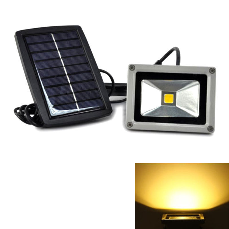 spotlight 12v waterproof outdoor floodlight landscape light with solar