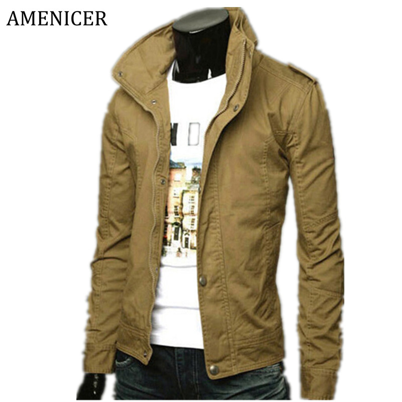 2015 Men'S Bomber Jackets And Coats Winter Military Camouflage Solid Outdoor Windbreaker Mens Jackets Manteau Homme(China (Mainland))