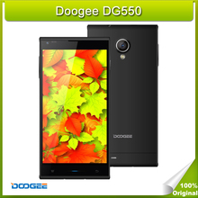 In Stock Doogee DG550 16GB ROM 1GB RAM 5.5 inch 3G Android 4.4 Smart Cell Phone MTK6592 8 Core 1.7GHz Dual SIM WCDMA & GSM Black