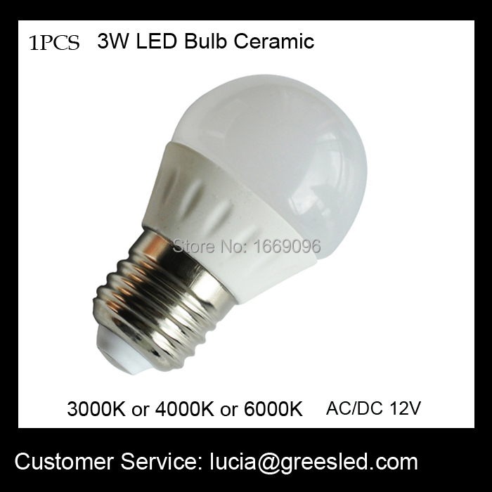 Factory outlet 12 volt dc led bulbs replace incandesent lamp 12V 3000K,6000K,white free shipping(China (Mainland))