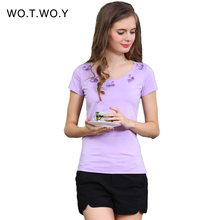 2016 New Top Quality Swan Beading Lace T Shirt Women Animal Design Fashion Tops Back Hollow