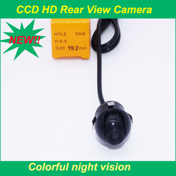 High quality Sony CCD HD night vision car rear view camera side view rear monitor for 360 degree Rotation Universal camera(China (Mainland))