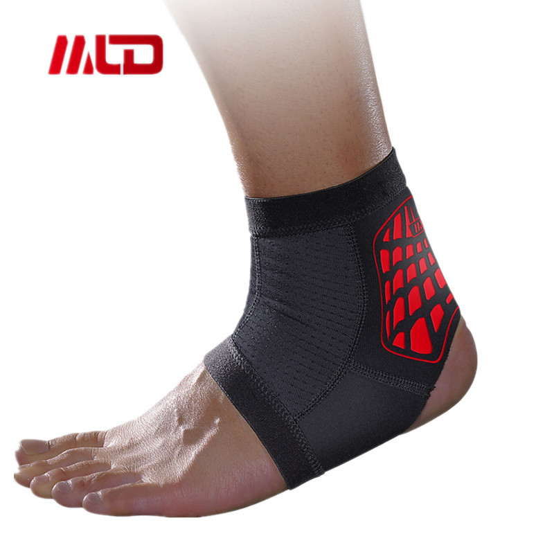 MLD Ultralight Breathable Adjustable Sports Elastic Ankle Support Sports Safety Gym Badminton Basketball ankle brace support(China (Mainland))