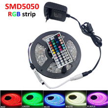 10M 5M 5050/2835 RGB LED Strip Lights 15M SMD Lamps 12V christmas lightsTape +44/24 KEYS Remote Controller for home decoration(China (Mainland))