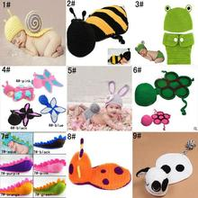 crocheted baby beanie promotion