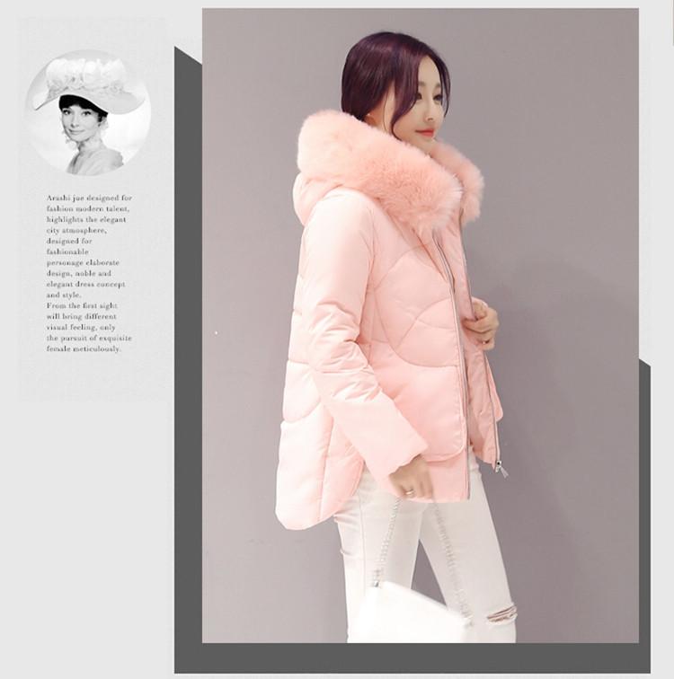 Скидки на Большой меховой воротник вниз ватные куртки женские пальто средней длины тонкий хлопка-ватник утолщение Новых мужчин зимняя куртка  женская зимняя парка пуховик зимний женский  пальто  зимние куртки женские  пуховик