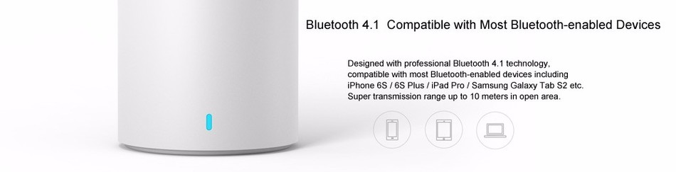 2016 New HiFi Hands Free Cylindrical Shape Built-in Lithium Battery For Xiaomi Iphone Samsung Smart Phone Bleutooth Speaker 2