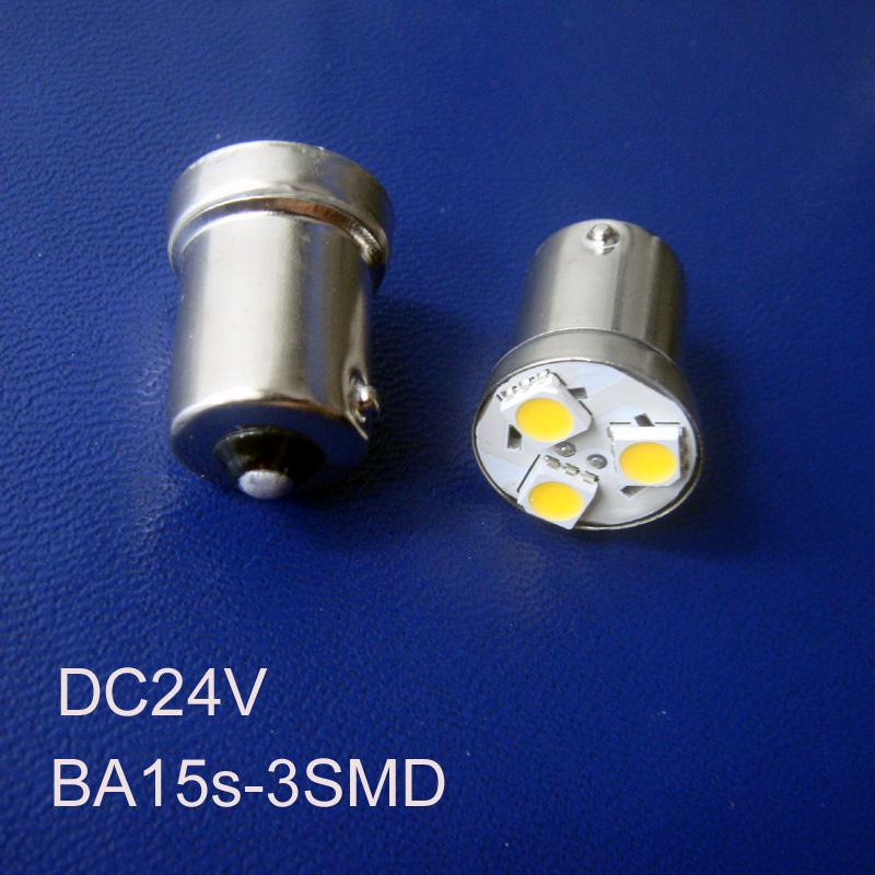 High quality 24v led 1156 1141 Truck,Freight Car bulb BAU15s BA15s P21W R5W PY21W led Side Turn Signal free shipping 5pcs/lot(China (Mainland))