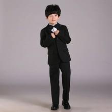 Mode jungen anzüge für hochzeiten sechs-stück kinder jungen smoking großhandel kinder jungen smoking für partei(China (Mainland))