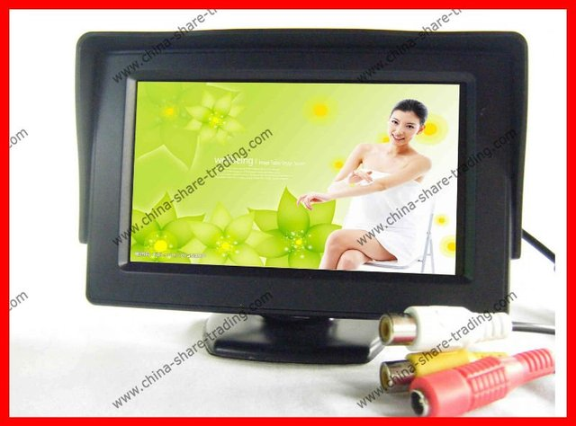 "4.3"" inch LCD TFT car Rear view Monitor Backup Monitor Display"