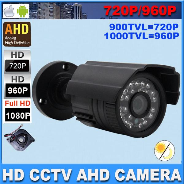 Гаджет   AHD Camera 1080P 960P 720P outdoor Indoor day night vision 2500tvl Video Surveillance mini CCTV camera  with IR Cut Filter None Безопасность и защита