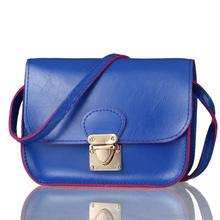 Fashion Candy Color woman Messenger Bag Women Hasp Cross Body Case Phone Bags PU Leather Shoulder Wallet