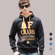 High Quality Men's AF Hoodies Men Casual Sweatshirts Man Hoodies Pullover Sportswear Jacket(China (Mainland))