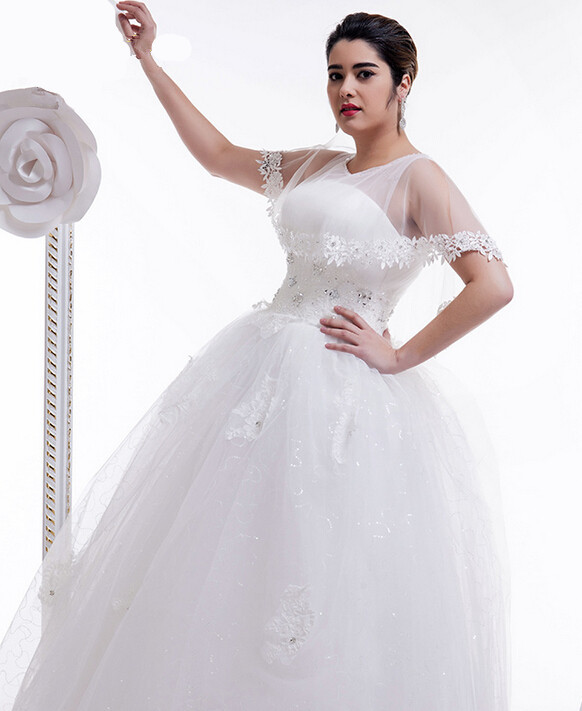 Popular wedding dresses for full figured women buy cheap for Wedding dresses for larger figures