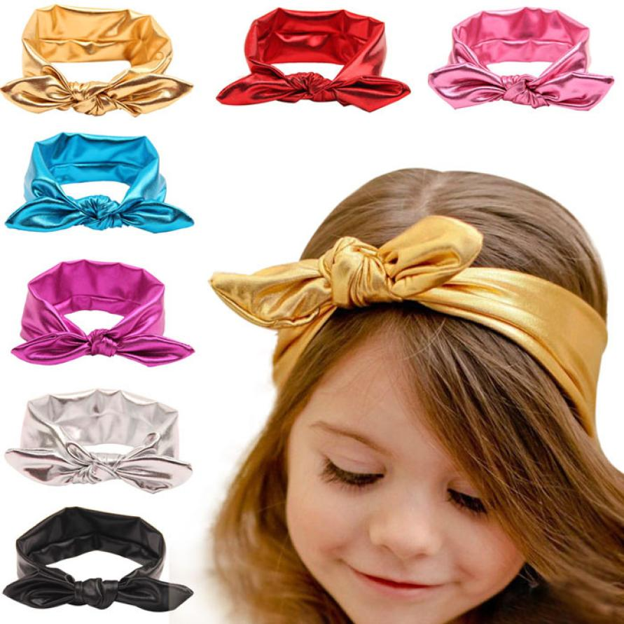 Baby Rabbit Ear Headband Elastic De Cabelo Infantil Head Band Fashion Design 2015 for Toddlers Baby Lacos Free Shipping(China (Mainland))