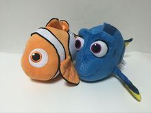 5pcs/lot 35cm Finding Nemo 2 Clownfish Dory Nemo Children Movies TV Kids Stuffed Animals Plush Toys Cartoon Dolls Anime Gift