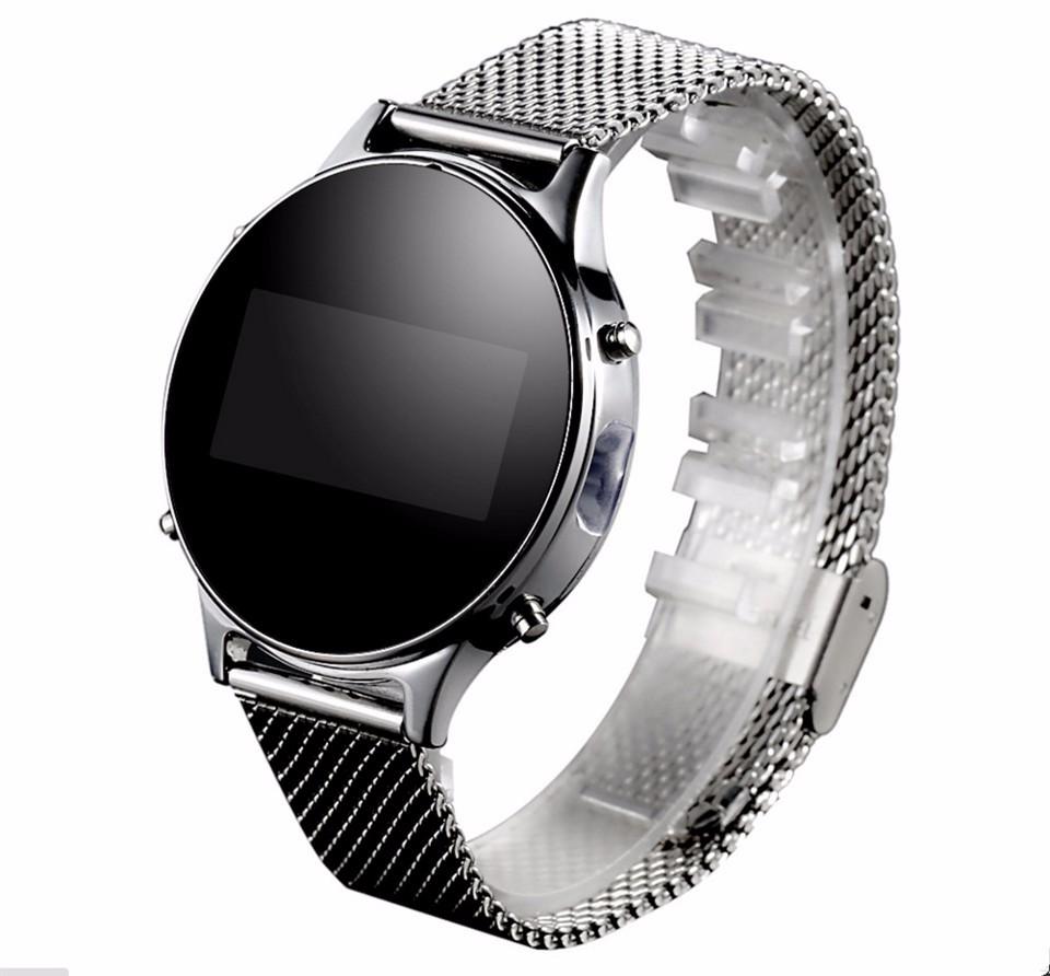 ถูก บลูทูธสมาร์ทนาฬิกาโทรMT360หุ่นยนต์กันน้ำนาฬิการะยะไกลกล้องแจ้งเตือนสร้อยข้อมือPedometerแฟชั่นธุรกิจ