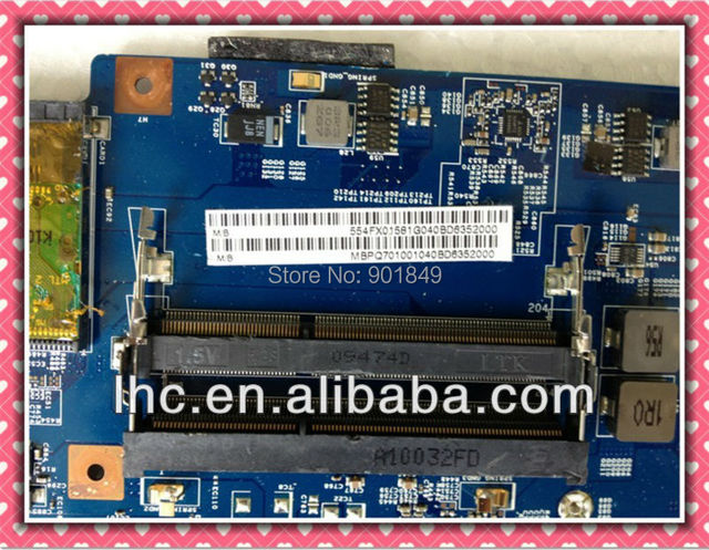 free shipping cost for acer aspire 7736 motherboard 7736z motherboard DDR3 and intel 48.4FX01.011
