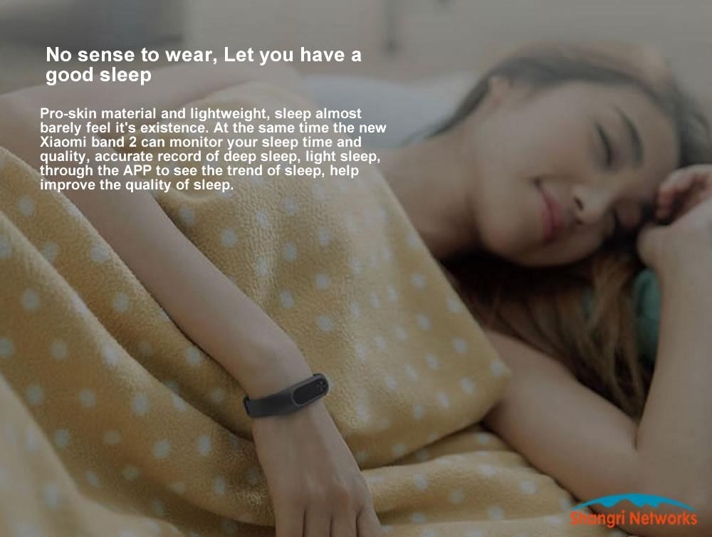 image for Original Xiaomi Mi Band 2 Wristband Optional Colorful Straps Sleep Tra