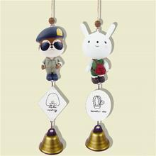 Descendants of the Sun SongJoongKi Neukkun SongHyeKyo Hayang PVC Windbell Pendant Figure Doll Home Decoration Crafts 16040112
