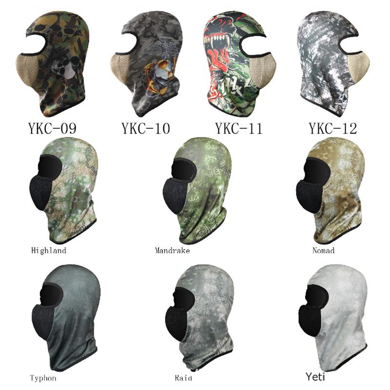 Hot Sale Outdoor Sports Headgear Hats Sun Hunting Protective headgear Face Neck Guard Headgear Masked Cap(China (Mainland))