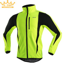 Buy Thermal Cycling Jacket Winter Warm Bicycle Clothing Windproof Waterproof Soft shell Coat MTB Bike Jersey for $26.23 in AliExpress store