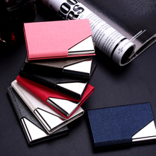 Rfid Travel Card Wallet Leather Men Women Waterproof Business Credit ID Card Holder Card Case Metal Wallet Cardholder Carteira(China (Mainland))