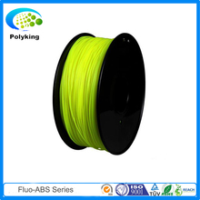 Fluorescent yellow 1 75mm abs filament extruder for makerbot solidoodle Afinia Utilmaker makerbot 3d printer