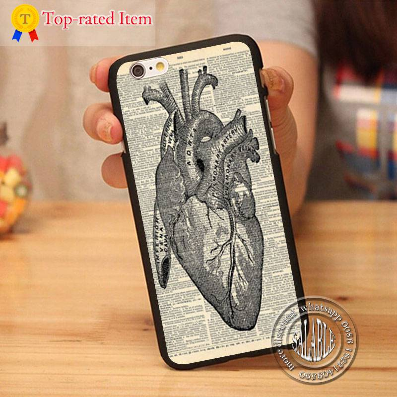 medical anatomy custom hard case for Apple iPhone 4S/5S/SE/5C/6S/Plus mobile cover 2015 hot selling(China (Mainland))
