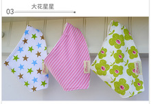 3 Pcs Lot 100 Cotton Baby Bibs Boys Girls Towel Bandanas Chiscarf Idren Cravat Infant Saliva