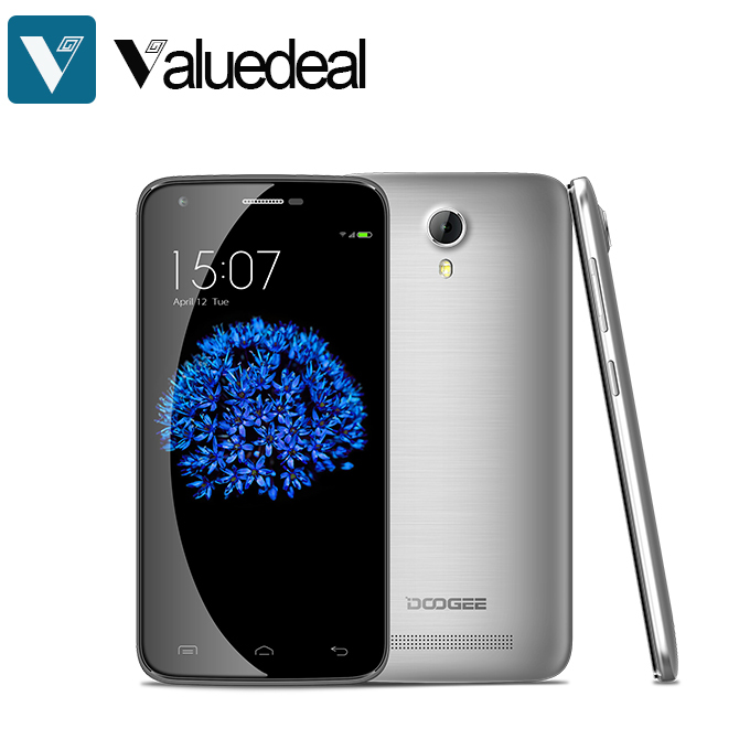 Original DOOGEE VALENCIA 2 Y100 PRO 5.0inch Cor ning Gorilla Glass 64bit 4G FDD-LTE Android 5.1 Smartphone MTK6735 Dual Camera(China (Mainland))