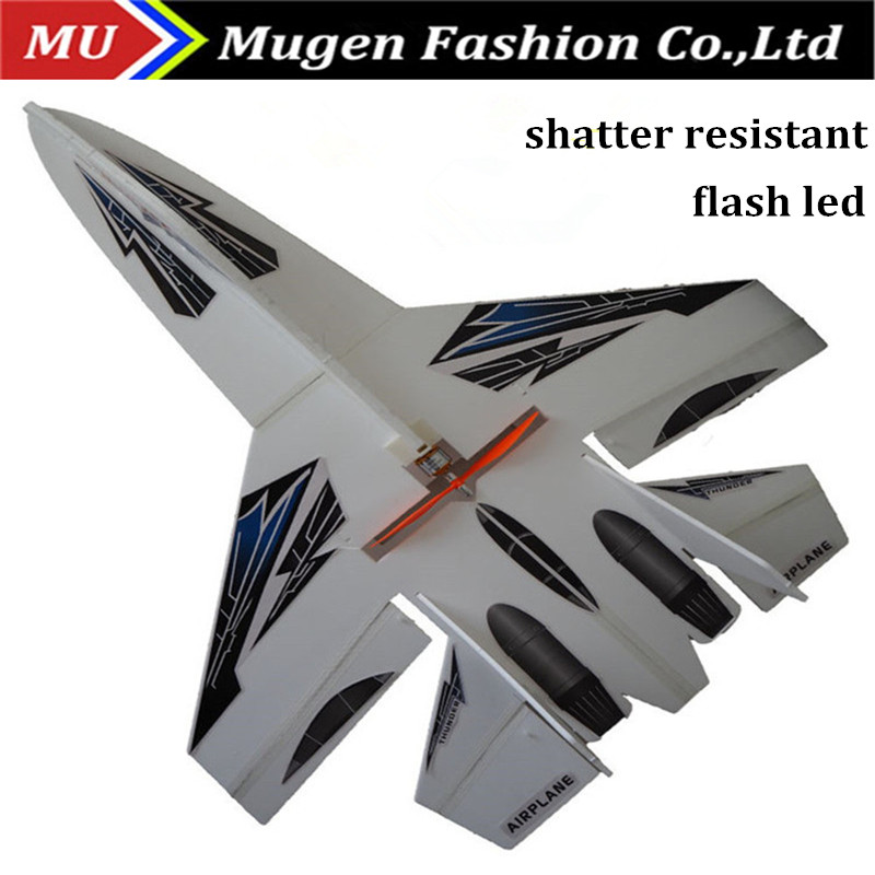 Hot sale shatter resistant rc airplane su 27 rc jet plane electric remote control airplane kit rc glider for new player(China (Mainland))