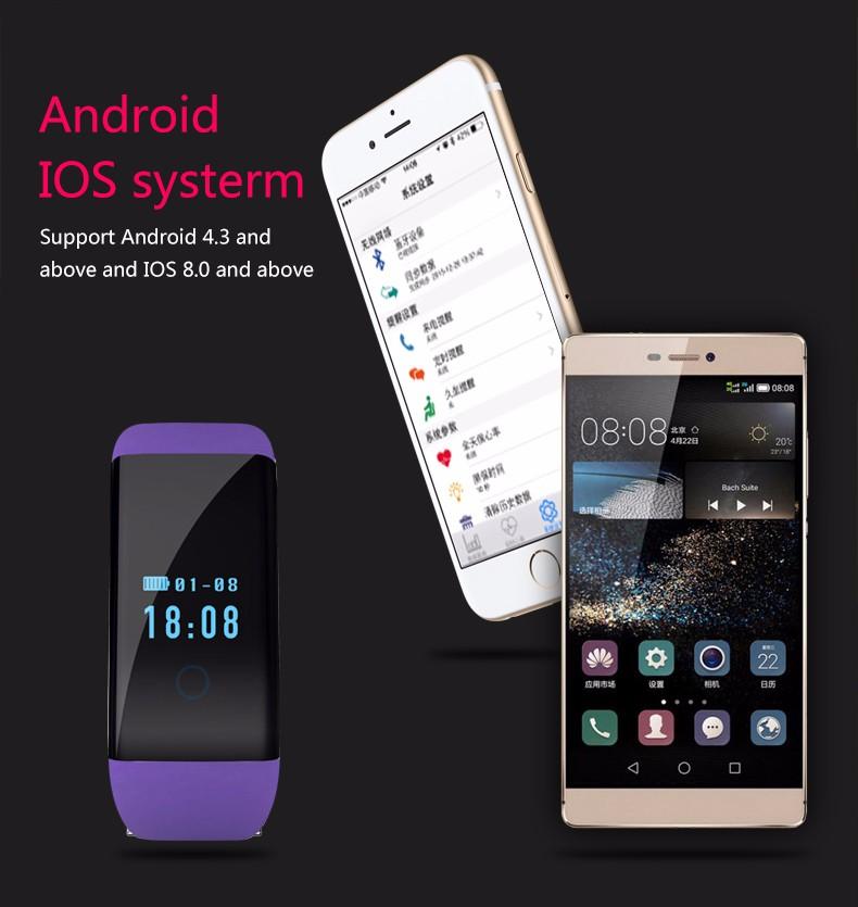 BOZLUN D21 Smart watch Call Message Reminder Watch Heart Rate Fashion Sport Smartwatch IOS Android Men Women Wristwatch