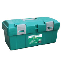 Practical Metal tools Portable plastic Toolbox Without Interlayer For Industrial installations Top quality GM31635