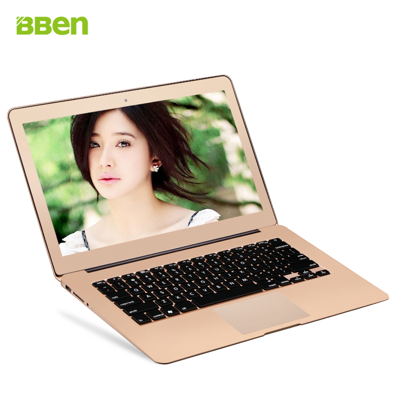 "13.3"" Game notebook i7 5th gen . cpu metal Laptop Windows 10 / 8 4GB RAM 64GB rom Spanish Russian etc Keyboard gold sliver color(China (Mainland))"