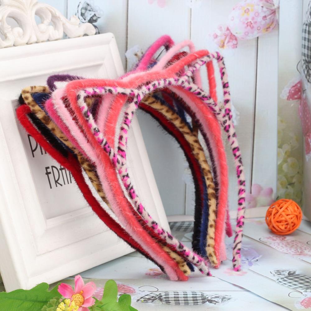 1pc sale summer style Girls Coloful crown Headband Princess Hair Accessories Children&women Accessories girls cat ear hair band(China (Mainland))