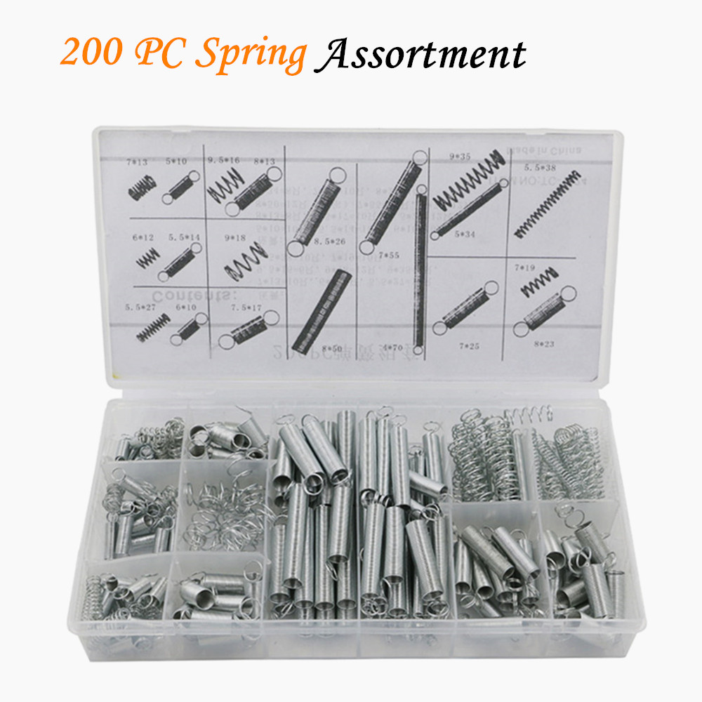 200 PCS Electrical Hardware Spring/spring Tension Spring/pressure/suit / A Goup With Free Shipping Molla Elicoidale ZK03(China (Mainland))