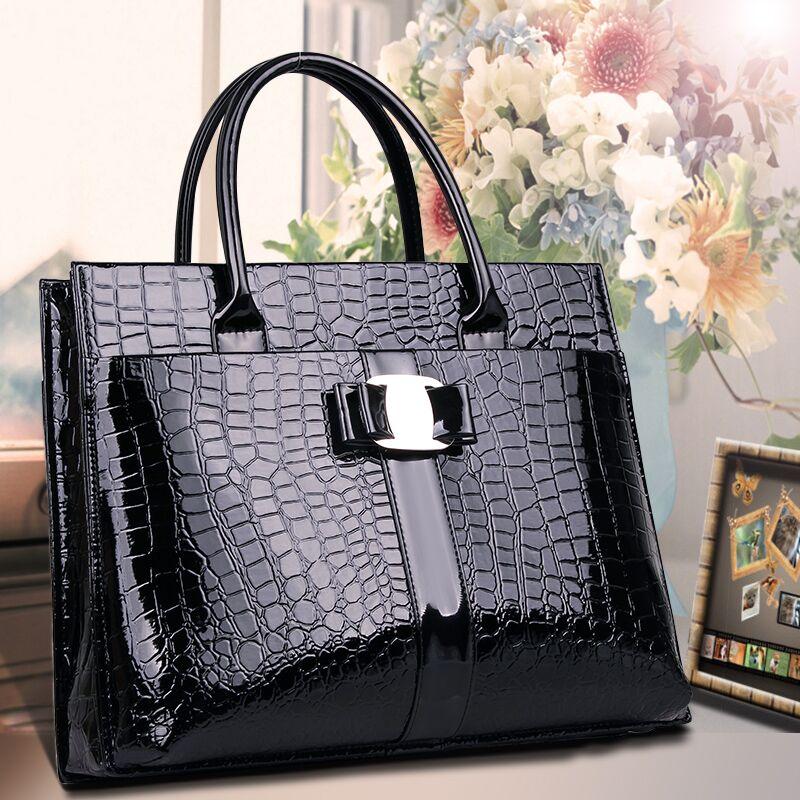Top-Handle Bags,Women Designer Handbags High Quality PU Leather Bag Female Briefcase sac a main femme de marque celebre, bolsos<br><br>Aliexpress