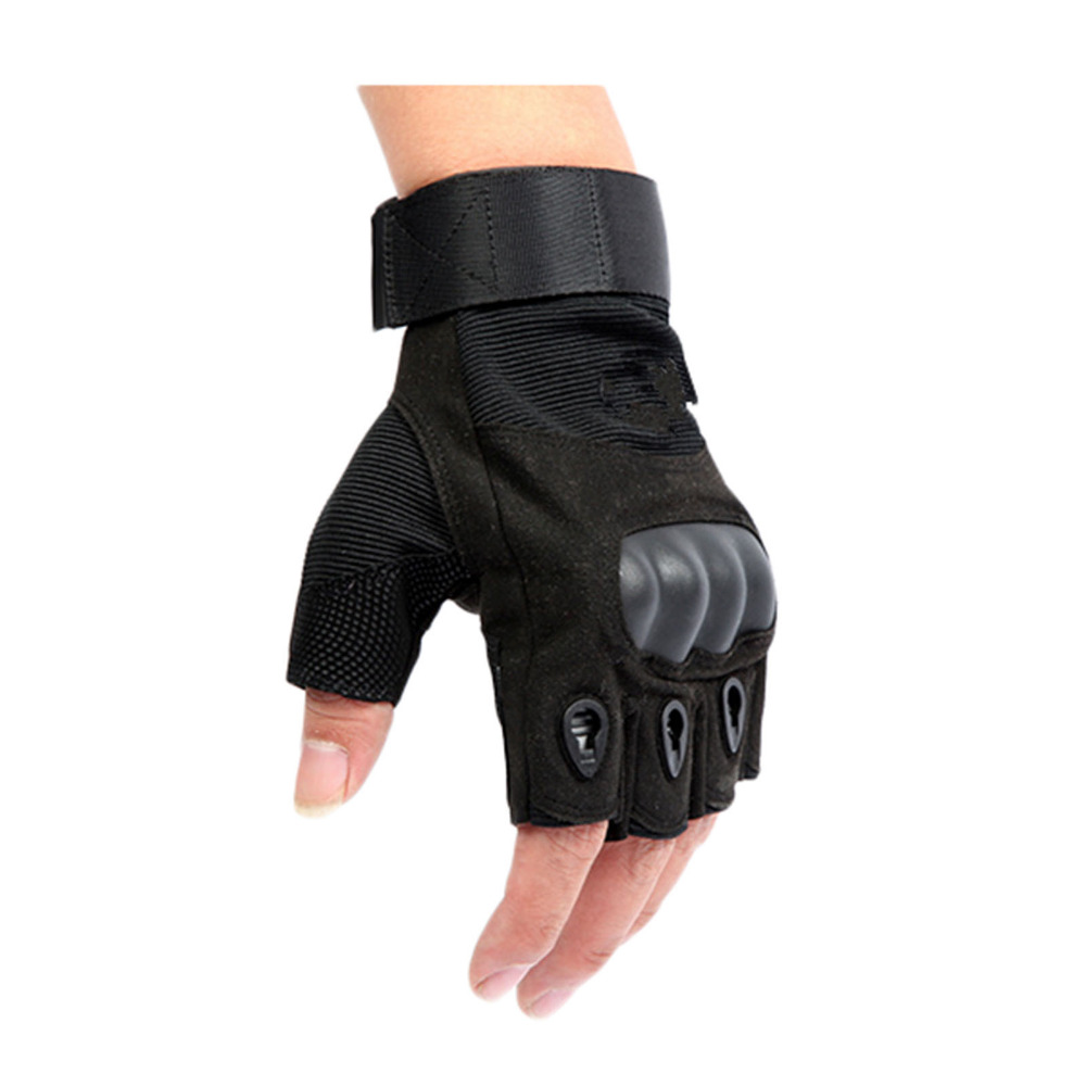 Fingerless gloves climbing - 2015 Tactical Gloves For Men Fingerless Army Gloves Climbing Bicycle Antiskid Fitness Sports Workout Gym Training Gloves Sw55