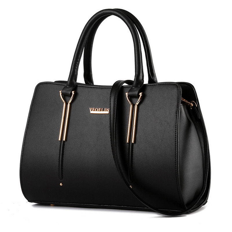 2015 New Arrive Women Designer PU Leather Handbags High Quality OL Luxury Shoulder Bag Ladies Fashion Messenger Bags Black A152<br><br>Aliexpress