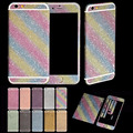 Bling Diamond Full Body Matte Decal Glitter Back Film Sticker Case Cover Skin And Tempered Glass