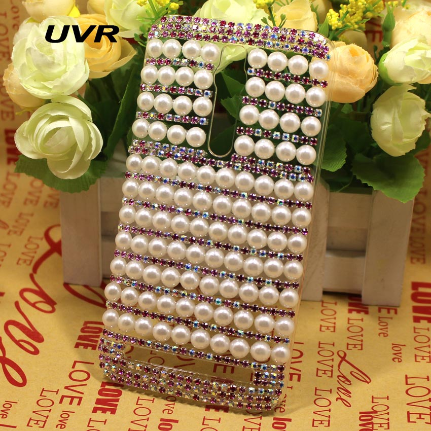 Handmade Bling Pearl Colorful Claw Chain Case Cover Asus Zenfone 2 ZE550ML ZE551ML 5.5 Inch  -  Sunsky Life Store store