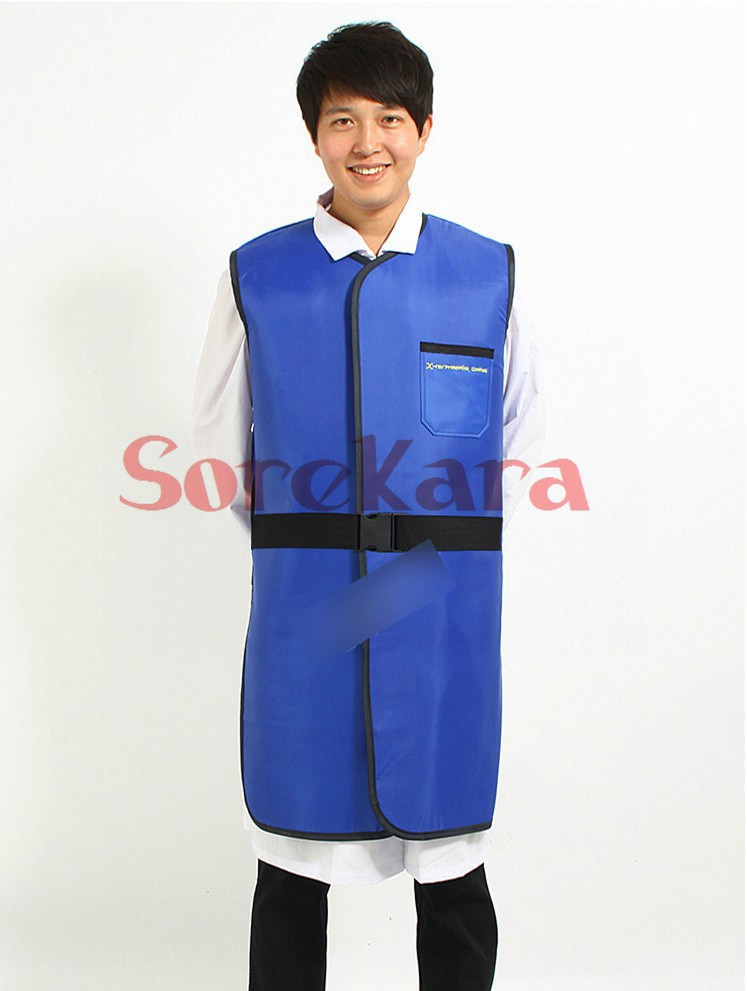 FS04 0.35mmpb Radiation-proof clothes prevent from X-ray Gamma Beta ray Lead VEST work for industry and X-ray department(China (Mainland))