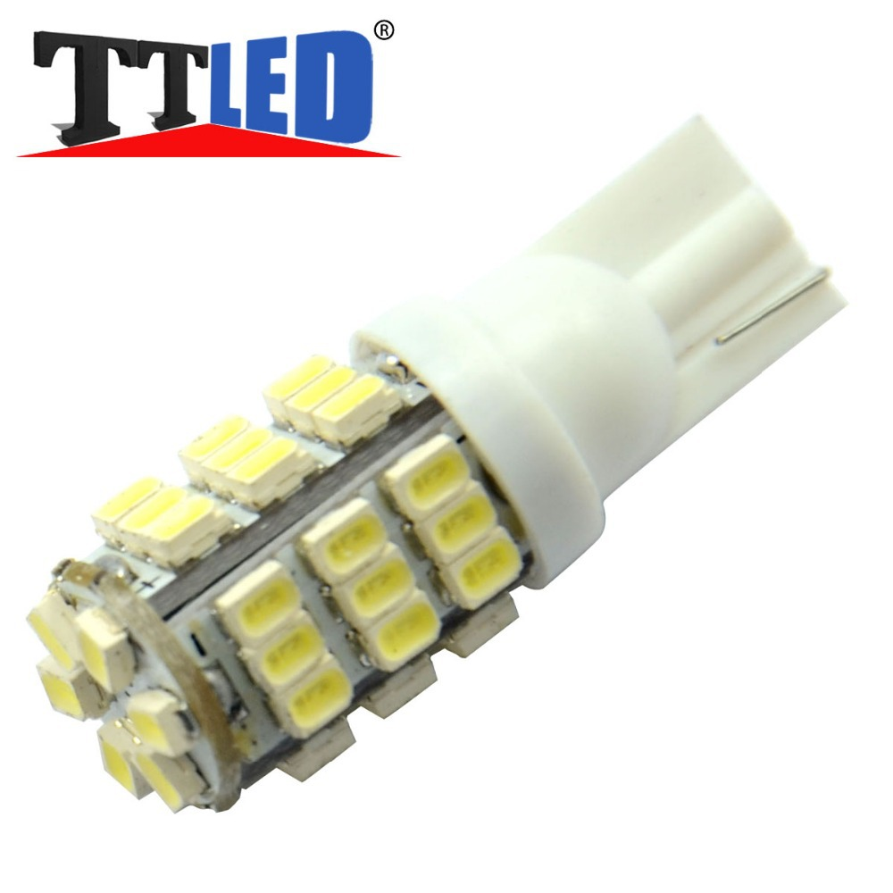 Wholesale 300X T10 1206 42 smd w5w 12v 24v led lights Bulbs Reading Running License plate Clearance Light free shipping #TB09-5(China (Mainland))
