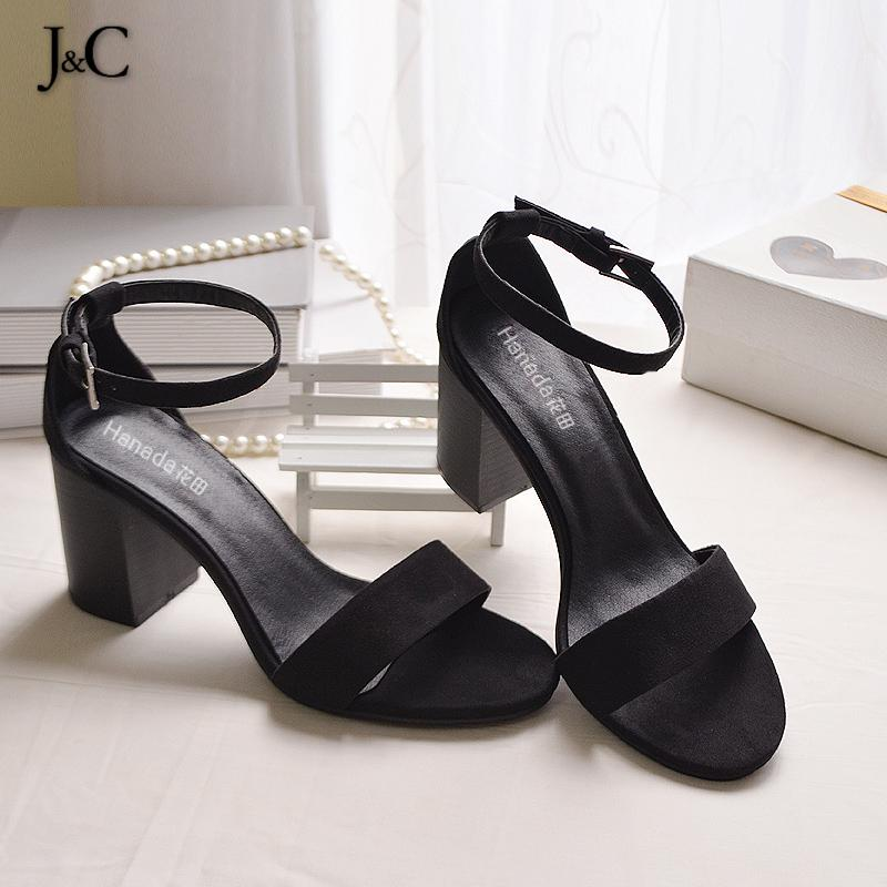 J&amp;C Shoes Woman Sandals 2016 Gladiator Sandals Women Womens High Heel Shoes Leather Summer Shoes FS001<br><br>Aliexpress