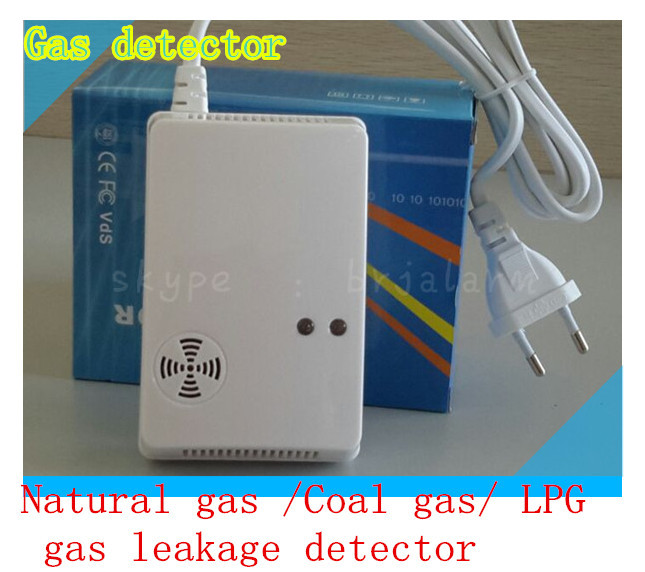 lpg lng coal natural smoke gas leak detector wireless combustible gas detector ac 220v alarm. Black Bedroom Furniture Sets. Home Design Ideas