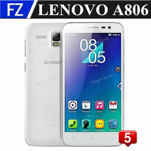 "Original Lenovo A806 A8 5.0"" IPS HD MTK6592 Octa Core Android 4.4 4G LTE FDD wcdma Unlocked Mobile Phone 2GB RAM 16GB ROM 13MP(China (Mainland))"