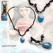Movie Moana Necklace Key Ring Pendant Anime Figures Action & Toy Figures One Piece Action Figure Good Quality Anime Figure(China (Mainland))
